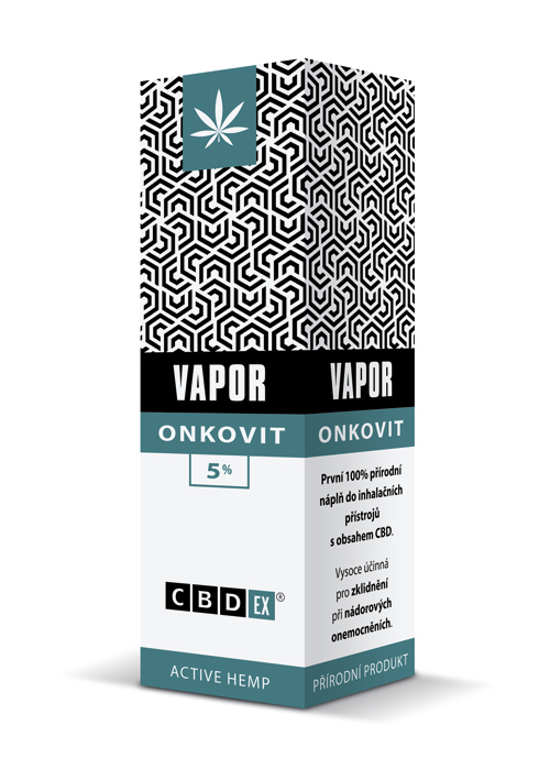 CBDex CBD Vapor Onkovit 5% 20ml