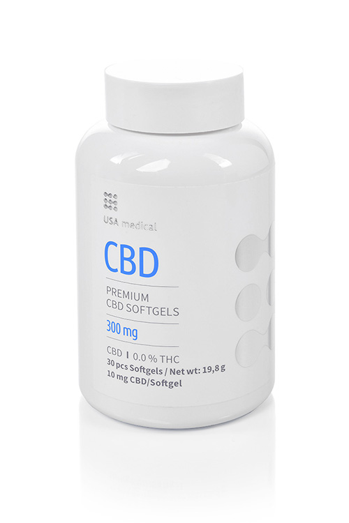 CBD kapsle 300mg USA MEDICAL