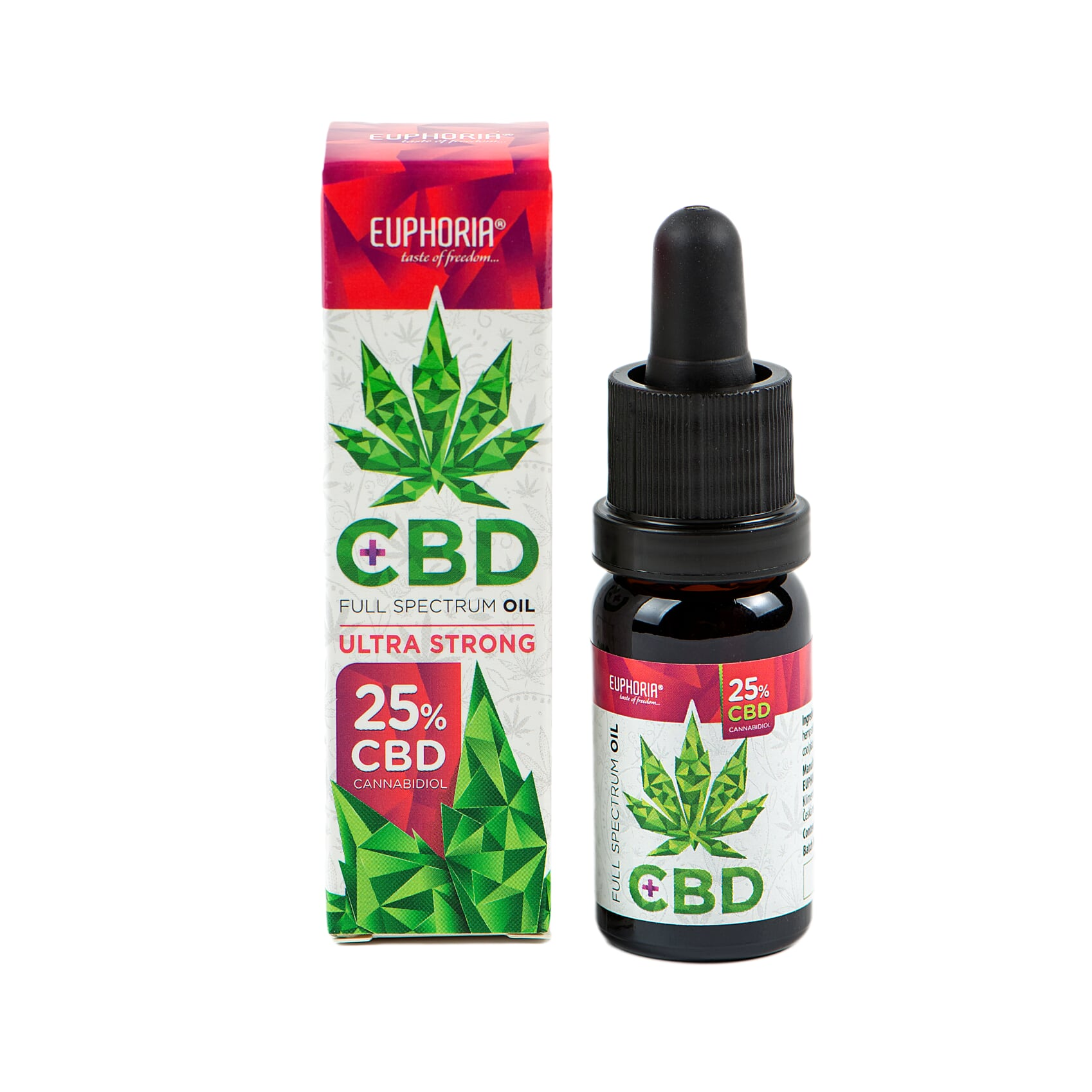 Euphoria CBD Olej 25% 10ml 2500mg