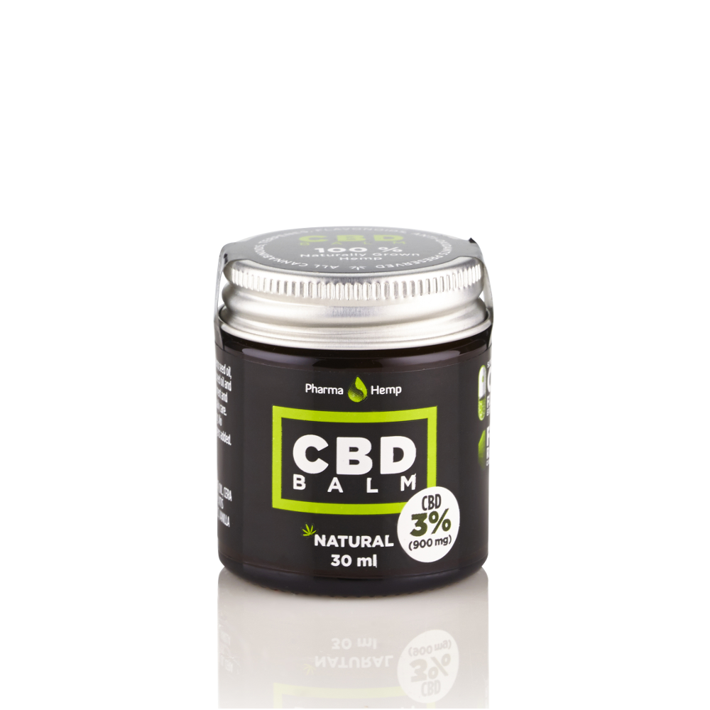 CBD balm balzám 3% 30ml Pharma Hemp