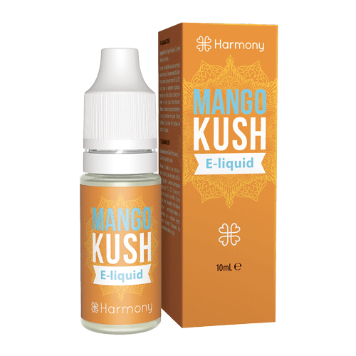 Harmony CBD e-liquid Mango Kush 30mg 10ml