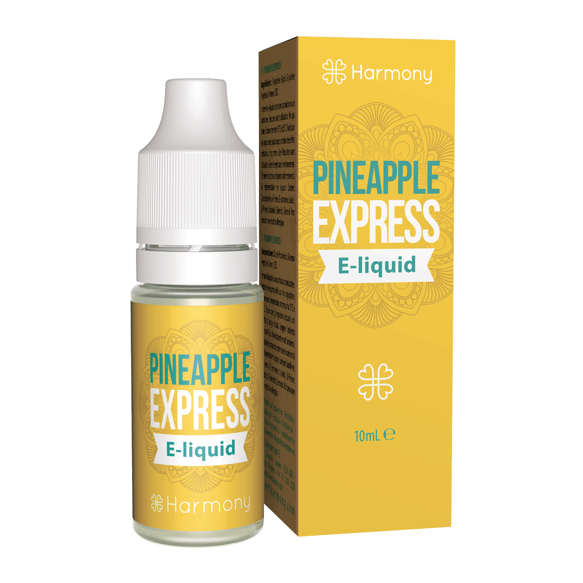 Harmony CBD e-liquid Pineapple Express 30mg 10ml