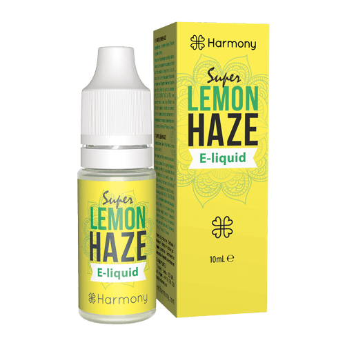 Harmony CBD e-liquid Super Lemon Haze 300mg 10ml