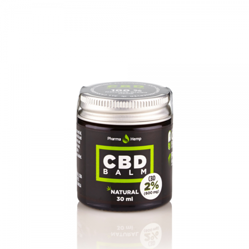 CBD balm balzám 2% 30ml Pharma Hemp