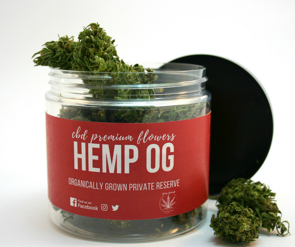CBD Hemp OG květy 7g Hemp Yourself