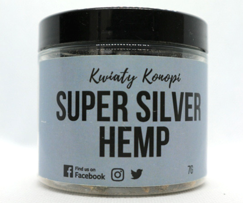 CBD Hemp Super Silver 7g Hemp Yourself