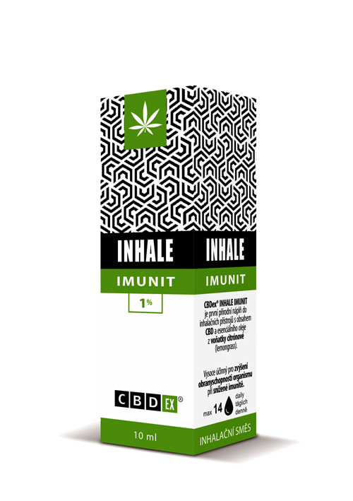CBDex CBD Inhale Imunit 1% 10ml