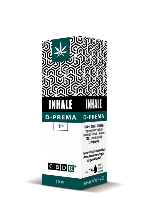 CBDex CBD Inhale D-Prema 1% 10ml