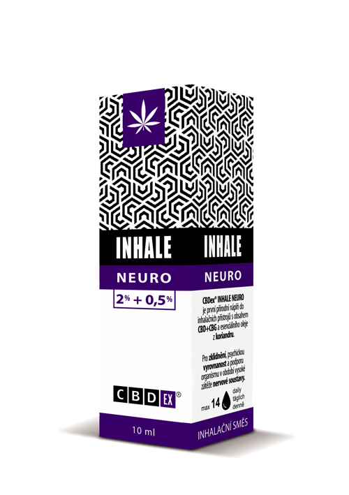 CBDex CBD Inhale Neuro 2%+0,5% 10ml