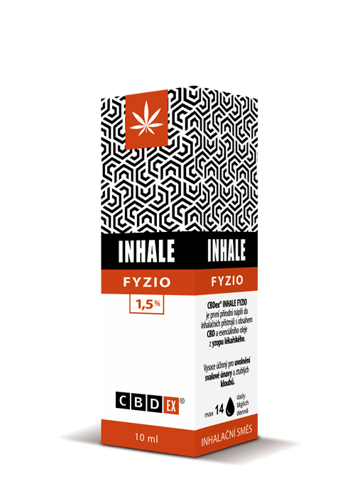 CBDex CBD Inhale Fyzio 1,5% 10ml