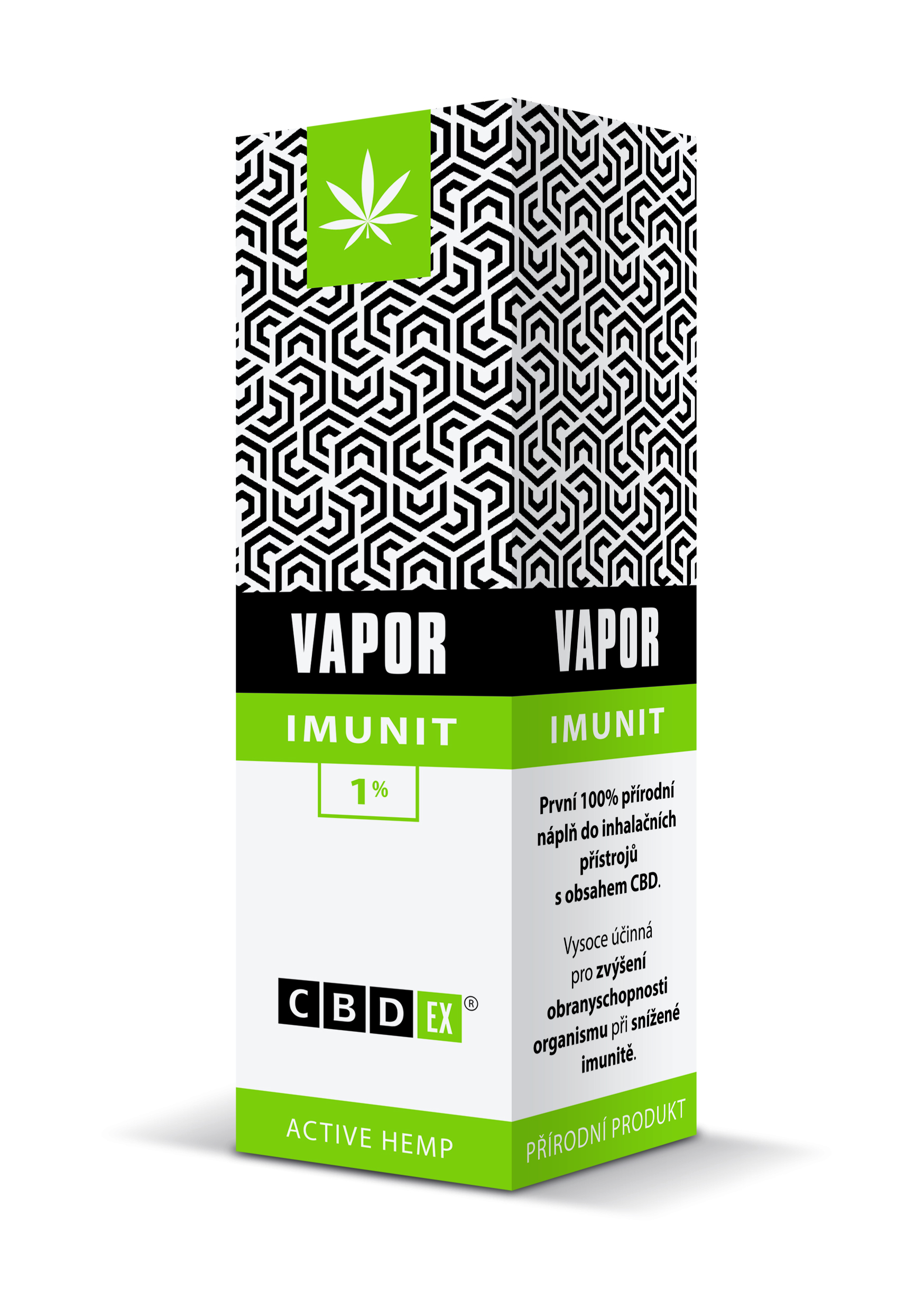 CBDex CBD Vapor Imunit 1% 20ml