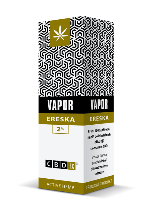 CBDex CBD Vapor Ereska 2% 20ml
