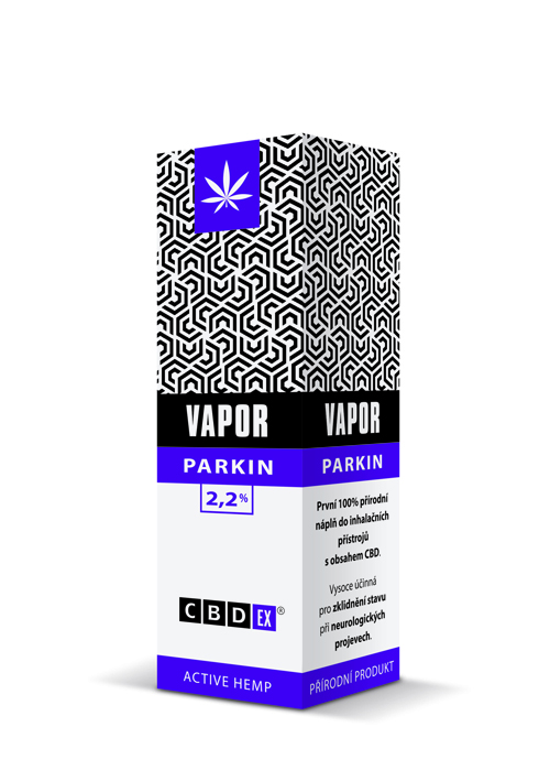 CBDex CBD Vapor Parkin 2,2% 10ml