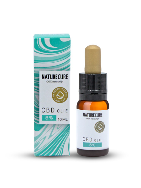 CBD olej 5% 10ml NATURE CURE