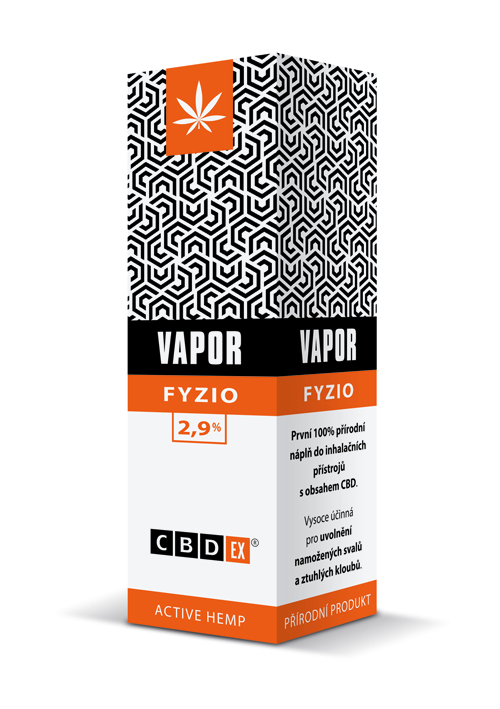 CBDex CBD Vapor Fyzio 2,9% 20ml