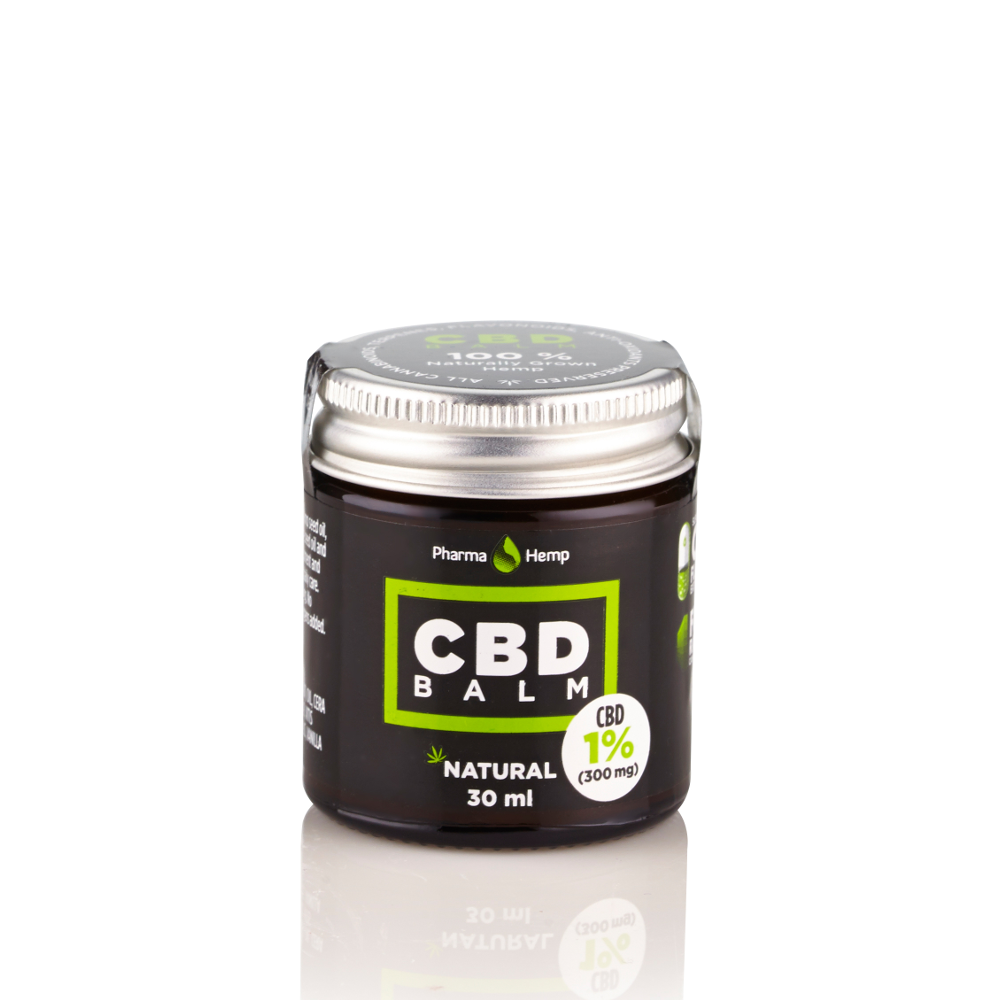 CBD balm balzám 1% 30ml Pharma Hemp