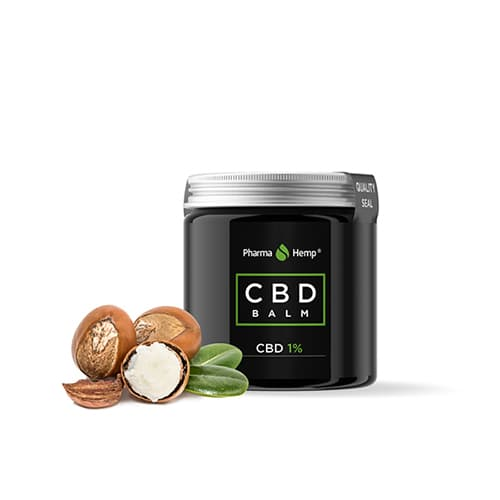 CBD balm balzám 1% 100ml Pharma Hemp